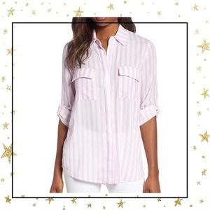 Gibson Scottsdale Stripes button down shirt (D5)
